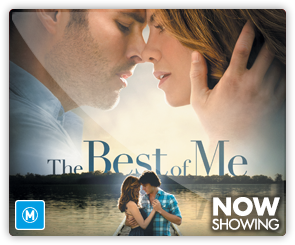 AU The Best Of Me - now showing