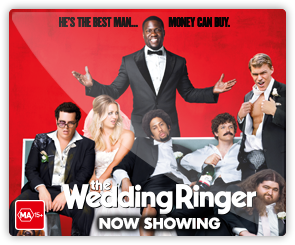AU The wedding Ringer - now showing