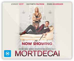 AU Mortdecai - coming soon