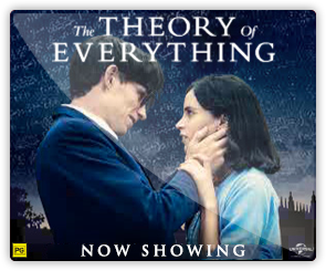 AU The Theory Of Everything - now showing