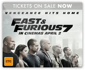 AU Fast and Furious 7 - Tickets On Sale