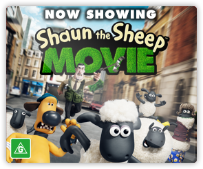 AU Shaun the Sheep - Now Showing