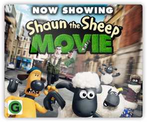 NZ Shaun the Sheep - Now Showing