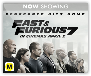 NZ Fast and Furious 7 - Now Showing