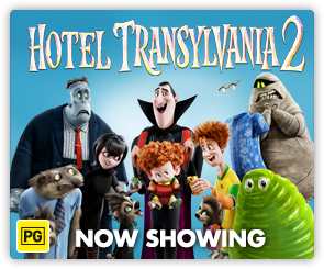AU Hotel Transylvania 2 - Now Showing