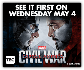 NZ Captain America - Wed Screening