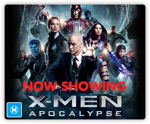 AU X-Men Apocalypse - Now Showing