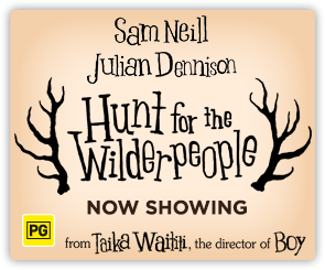 AU Hunt For The Wilderpeople - Now Showing