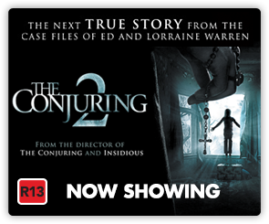 NZ Conjuring 2 - Now Showing