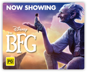 AU BFG - Now Showing