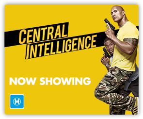 AU Central Intelligence - Now Showing