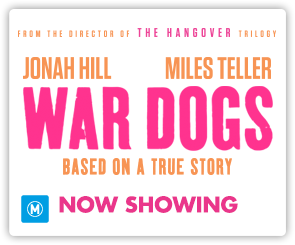 AU War Dogs - Now Showing