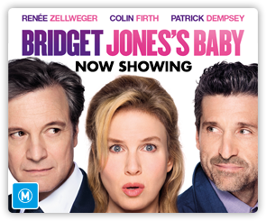 AU Bridget Jones - Now Showing