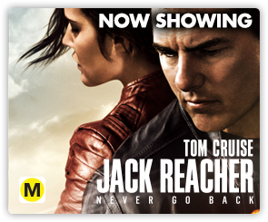NZ Jack Reacher - Now Showing