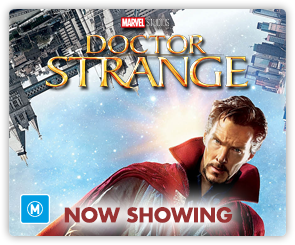 AU Doctor Strange - Now Showing