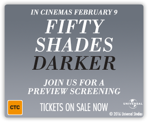 AU Fifty Shades Darker - Special Event