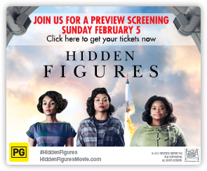 AU Hidden Figures - Advance Screening
