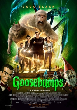 Movie Listing Now Showing Goosebumps 2d Reading