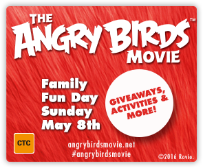 AU Angry Birds - Family Fun Day