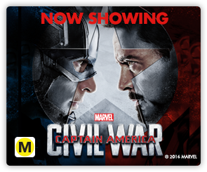 NZ Captain America - Now Showing