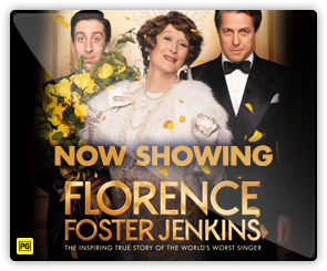 AU Florence Foster Jenkins - Now Showing