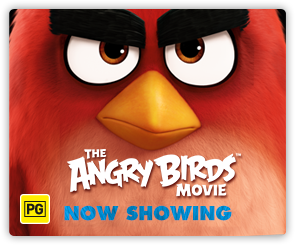 AU Angry Birds - Now Showing