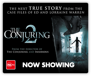 AU Conjuring 2 - Now Showing