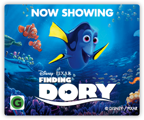 NZ Finding Dory - Now Showing