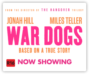 NZ War Dogs - Now Showing