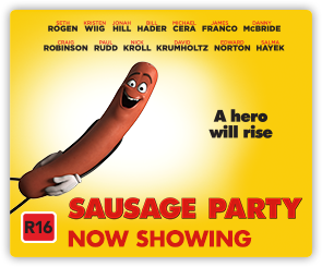 NZ Sausage Party - Now Showing