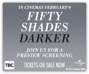 NZ Fifty Shades Darker - Special Event