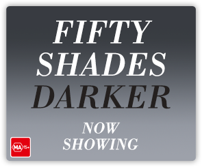 AU Fifty Shades Darker - Now Showing