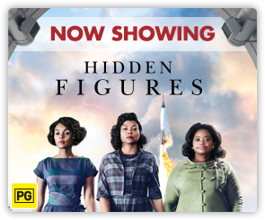 AU Hidden Figures - Now Showing