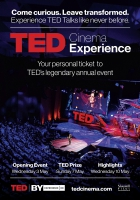 TED Cinema Experience: TED2017 Prize Event