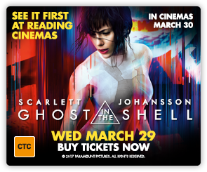 AU Ghost In The Shell advance screening