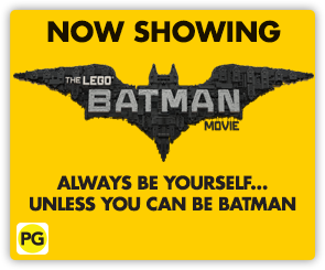 NZ Lego Batman - Now Showing