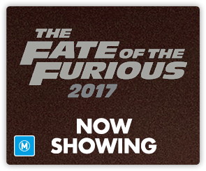 AU Fate of the Furious - now showing