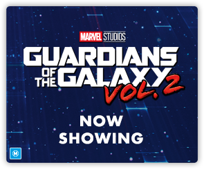 AU GOTG Vol 2 - Now Showing