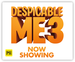 AU Despicable Me 3 - Now Showing