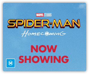AU SpiderMan - Now Showing