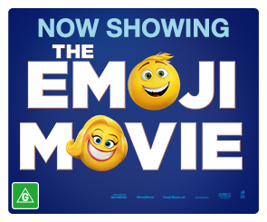 AU Emoji Movie - Now Showing