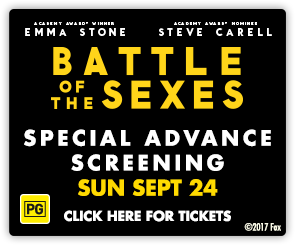 AU Battle of the Sexes - Advance Screening