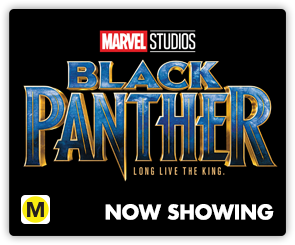 NZ Black Panther NOW SHOWING SIDE