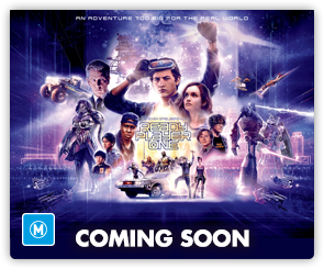 AU Ready Player One SIDE Coming Soon
