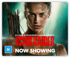 AU Tomb Raider now showing