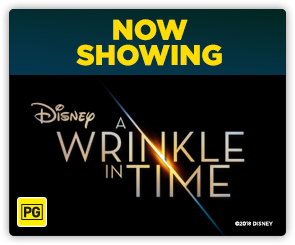 AU - A Wrinkle In Time now showing