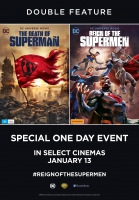 Death of Superman & The Reign of the Supermen - Double Feature