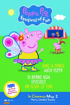 Movie Listing Now Showing Peppa Pig Festival Of Fun Reading