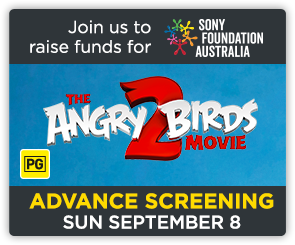 AU Angry Birds Sony Screening Side