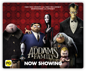 NZ The Addams Family NS Side